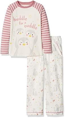 Fat Face Girl's Penguin Cuddle Pyjama Sets,(Manufacturer Size: 4-5)