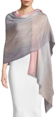 Emporio Armani Ombre Wool Scarf