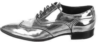Giuseppe Zanotti Guns Patent Leather Oxfords