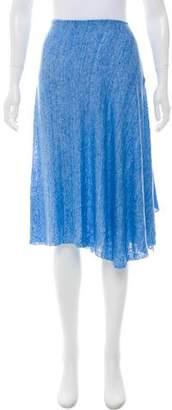 White + Warren Knit Knee-Length Skirt