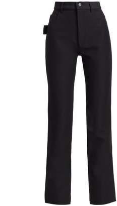 Bottega Veneta Compact High-Waist Trousers
