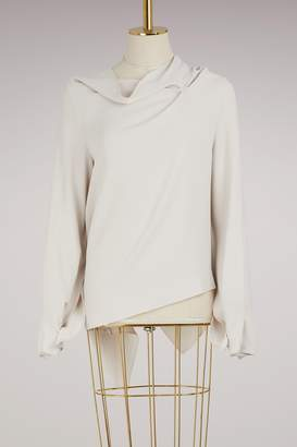 Roland Mouret Leyton stretch blouse