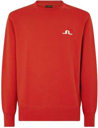 J. Lindeberg Cotton Logo Sweater