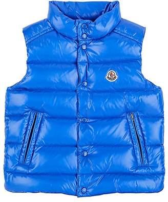 Moncler Kids' Down-Quilted Tech-Taffeta Vest