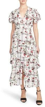 Rachel Roy COLLECTION RACHEL Crossover Maxi Dress