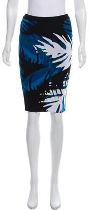 Timo Weiland Patterned Knee-Length Skirt