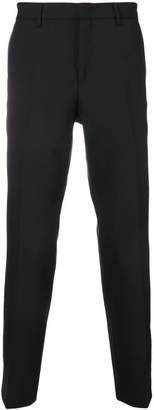 Versace logo cropped trousers
