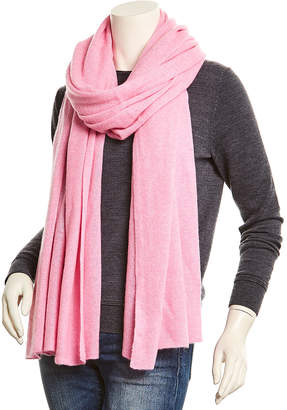 White + Warren Cotton Candy Heather Cashmere Wrap With $15 Credit