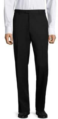 Santorelli Platinum Super 130's Regular-Fit Gabardine Trousers