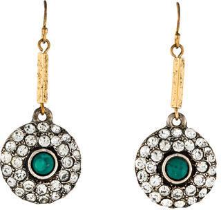Lulu Frost Crystal Drop Earrings $95 thestylecure.com
