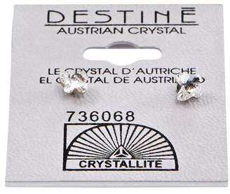 Crystallite Destine Butterfly Earrings 5mm