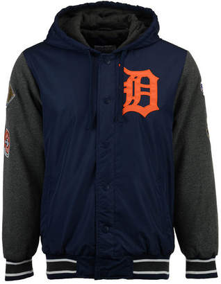 G-iii Sports Men's Detroit Tigers Top Brass Commemorative Varsity Jacket