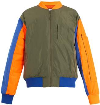PAM Perspective colour-block bomber jacket