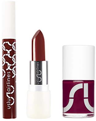 "Uslu Airlines Dark Red Lip & Nail Collection ""Still In Berlin"""