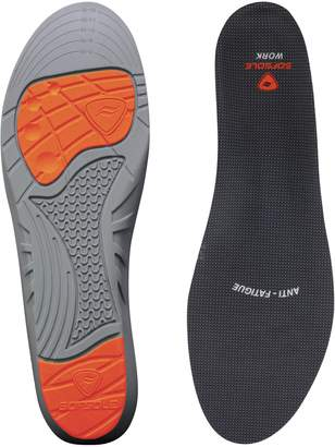 Sof Sole Insoles Men's WORK Anti-Fatigue Full-Length Comfort Shoe Inserts