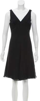 Armani Collezioni A-Line Silk Dress