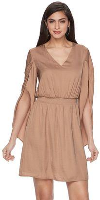 Women's Jennifer Lopez Flutter Fit & Flare Dress $58 thestylecure.com