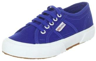 Superga 2750 Jcot Classic, Unisex Kids' Low-Top Sneakers, Bleu (Intense Blue), 12.5 UK