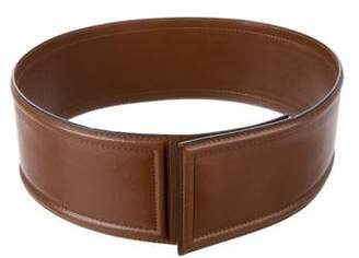 Marni Leather Wide Belt