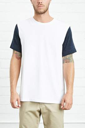 Forever 21 Classic Colorblock Tee