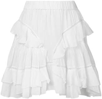 Etoile Isabel Marant Varese embroidered skirt