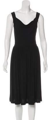 Barneys New York Barney's New York Sleeveless Midi Dress