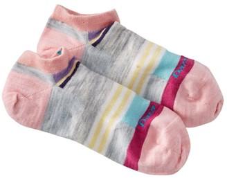 L.L. Bean L.L.Bean Women's Darn Tough Stripe No-Show Socks