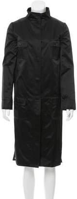 Dolce & Gabbana Silk Longline Jacket