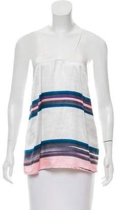 Rachel Comey Sleeveless Striped Top