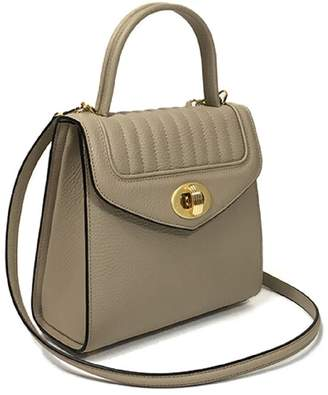 Freda Delage - Leather Hand Bag Mini Noisette