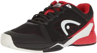 Head Revolt Pro 2.0 Men's Tennis Shoes, Raven/Red, 8