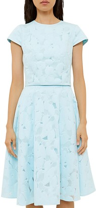 Ted Baker Floral Jacquard Crop Top $185 thestylecure.com