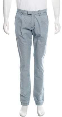 Pierre Balmain Woven Striped Pants
