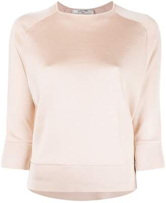 Lanvin subtle sheen top
