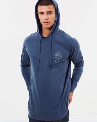 Silent Theory Passive LS Hooded Tee
