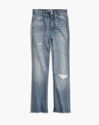 Madewell Pre-order Rigid Demi-Boot Crop Jeans