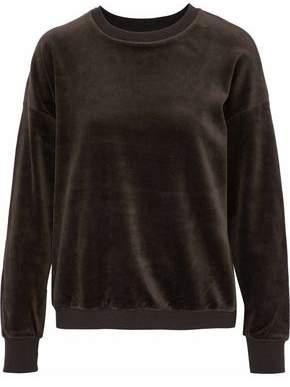 Vince Stretch-Cotton Velour Sweatshirt