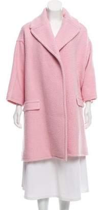 Rochas Textured Wool-Blend Coat