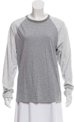Marc Jacobs Long Sleeve Baseball T-Shirt