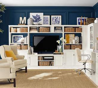 """Pottery Barn Hutch with Open Shelves - 36"""""""
