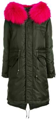 Mr & Mrs Italy hooded padded jacket
