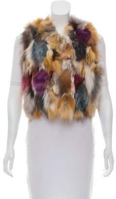 Zadig & Voltaire Deluxe Fox Fur Vest