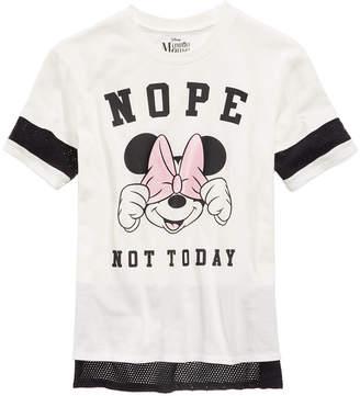 Disney Mesh-Trim Minnie Mouse Top, Big Girls