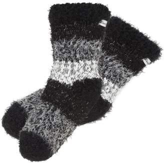 Dearfoams Eyelash Knit Flurry Slipper Socks