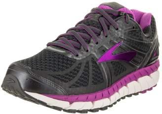 Brooks Women's Ariel '16 2E Running Shoe (BRK-120219 2E 40220B0 10 ANT/PUR/PRIMER)