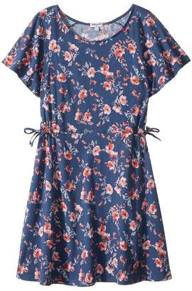Splendid Littles Floral Print Ruffle Dress Girl's Dress