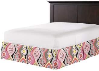 Loom Decor Tailored Bedskirt Tobi Fairley La Petit Roche - Coral