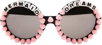 Rad + Refined Mermaid Dreams Round Sunglasses