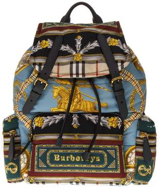 Burberry Medium Rucksack Multicolor Backpack
