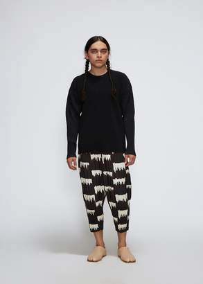 Issey Miyake Homme Plisse Wild Check Pleated Pant